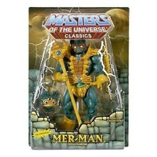 MOTUC MASTERS OF THE UNIVERSE MER-MAN 1st Edition April 2009