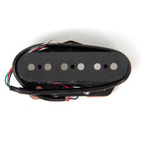 Bridge Pickup Alnico 5 for Electric Guitar Parts Replacement Black