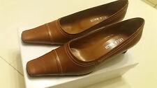 Scarpe artigianali donna Lella Baldi 36,5 (37)  marroni nuove