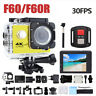 4K 1080P WiFi Action Camera Camcorder Waterproof DV Sports Cam Sports Go Pro New