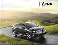2015 15 Toyota  Venza  oiginal sales brochure