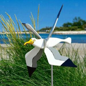 25cm Harz Wind Spinner Windspiel Edelstahl Windrad Windspirale Gartendeko DE NEU