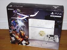 Playstation 4 Destiny Taken King Limited Edition White Console Bundle NEW SEALED