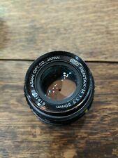 PENTAX SMC Pentax-M 50mm F1.7 Lens