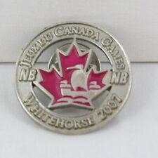 Juex Canada Winter Games Pin - 2007 Whitehorse Yukon - Team New Brunswick