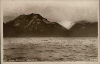 Lyngenfjord Norwegen Norge Troms ~1930 Mitternachtssonne Midnattssol Fjord Berge