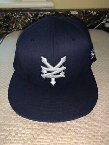 New Zoo York Flexfit Blue Baseball Hat S/M