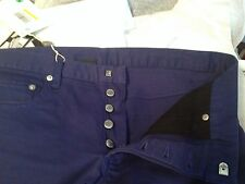 BNWT Dior Homme dark royal blue jeans pants 31 - GUARANTEED AUTHENTIC