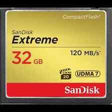 SanDisk 32GB Compactflash CF-Karte Extreme 120MB / S 800X SDCFXPS-032G VPG-20