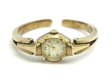 Vintage BULOVA 10K Gold RGP L5 Winding 6BL Swiss 17Jewel Mechanical Bangle Watch