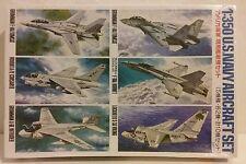 Tamiya 1/350 scale US Navy aircraft set.