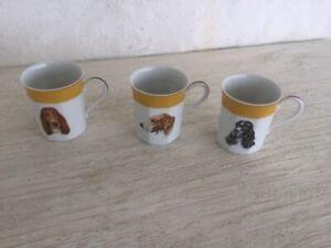 HERMES  PORCELAIN CUPS