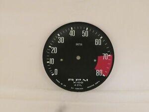 Tachometer Dial Face Plate Original Smiths Brand Fits Jensen Healey  RVI1439/03A
