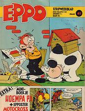STRIPWEEKBLAD EPPO 1978 nr. 41 - MINI-BOEKJE HOEMPA PA /STORM / ROODBAARD