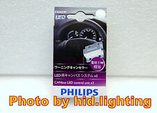 2x Philips 5W CANbus LED load Resistor T10 error Warning Canceller bulb light