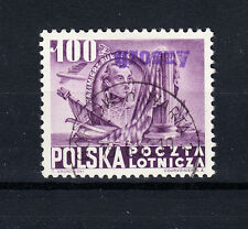 Polen Briefmarken 1950 Groszy Aufdruck T11 Verfassung der USA Mi.Nr. 618 geprüft