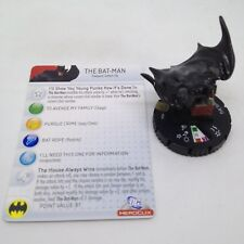 Heroclix Superman set The Bat-Man (Flashpoint) #046 Super Rare figure w/card!