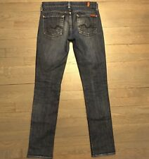 7 SEVEN FOR ALL MANKIND ROXANNE SKINNY STRETCH FIT DENIM JEANS WOMAN'S SIZE 25