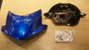 GENUINE TRIUMPH STREET TRIPLE / R 675 FLYSCREEN KIT CARIBBEAN BLUE A9708269-JV