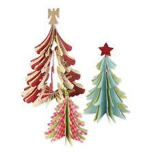 Sizzix Bigz Die árboles de Navidad 3-D 658754 BIGkick/Big Shot y Vagabond