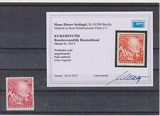 BPP-Fotobefund Briefmarken-Abarten & -Plattenfehler aus der BRD (1948-1959)