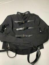 Negro cinturón de lona con cierre de gancho y bucle para un Shadowtrooper Traje-desde el Reino Unido