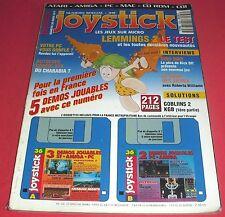 Magazine Joystick [n°36 Mars 1993] Amiga Atari ST PC MAC CD Rom CDI *JRF