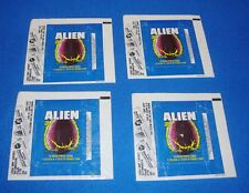 1979 Topps Alien Wrapper Lot of 4
