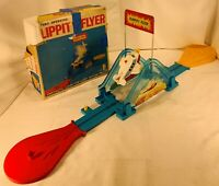 Vintage Flippity Flyer Set by Tomy Complete, Working in Good Condition FREE SHIP