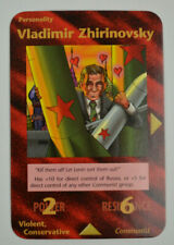Illuminati New World Order INWO Assassins Uncommon Vladimir Zhirinovsky CCG