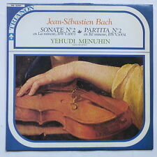 BACH Sonate 2 Partita 2  YEHUDI MENUHIN   tri 33101