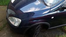 Opel Corsa C Kotflügel links 36U Nocturnoblau Blau Bj 2002 3-Türer Combo