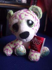 """BNWT Russ Lil / Li'l Peepers beanie Soft Toy - Sasha the Leopard - 20cm / 8"""""""