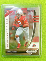 CHASE YOUNG PRIZM ROOKIE CARD JERSEY #2 OHIO STATE RC 2020 Prizm Draft Picks OSU