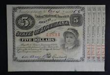 New listing 1875 $5 Baby Bond Gem Cu Lot 118