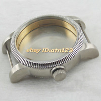 stainless steel 46mm watch case for eta 6497 6498 Seagull st36 movement p516