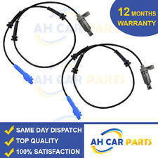 2X ABS SPEED SENSOR FOR PEUGEOT 206CC 206 REAR DRIVER & PASSENGER SIDE 4545.A3