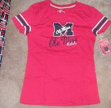 NEW NCAA Ole Miss Rebels T Shirt Women Ladies L Large NEW NWT