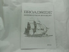 BROADSIDE GAME RULES BOOKLET(American Heritage)