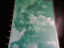 Psalm 113:4 Planner cover for use with Happy Planner