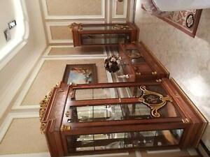 Sideboard TV Lowboard Rtv Wardrobe Table Living Room Wood Classic Baroque Glas