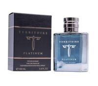 Territoire Platinum by YZY 3.4 oz EDP Cologne for Men New In Box