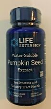 Life Extension Water-Soluble Pumpkin Seed Extract 60 Vegetarian Caps