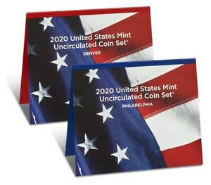 2020 United States Mint Uncirculated Coin Set (20RJ) P&D