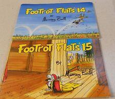 Murray Ball x 2 - Footrot Flats 14 & 15 - SC