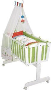 Cuna de bebe cama infantil colchon transpirable Roba 8950TPS209