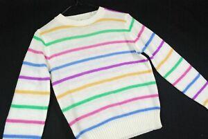 Vintage 70s multi striped sweater