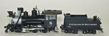 Sn3 Brass Overland Models Inc. C&S 2-6-0 #8