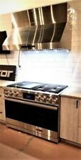 """Dacor Dop48M96Dls 48"""" Contemporary Dual-Fuel Steam Range w/Griddle in Stainless"""