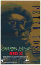 STEPPING RAZOR - RED X Movie POSTER 27x40 Peter Tosh